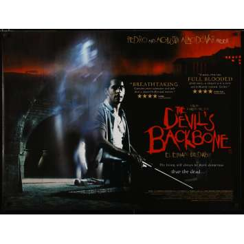 DEVIL'S BACKBONE English Movie Poster 40x30 - 2001 - Guillermo Del Toro, Eduardo Noriega, Marisa Paredes