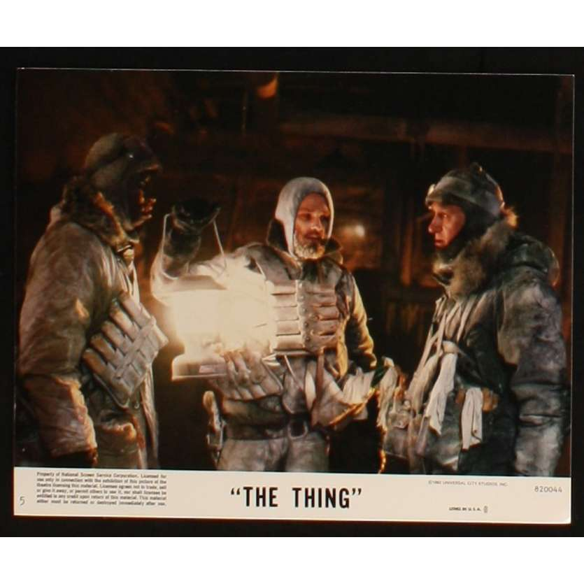 THE THING US Lobby Card 7 8x10 - 1982 - John Carpenter, Kurt Russel