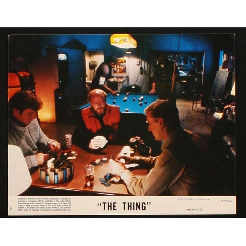 THE THING US Lobby Card 4 8x10 - 1982 - John Carpenter, Kurt Russel