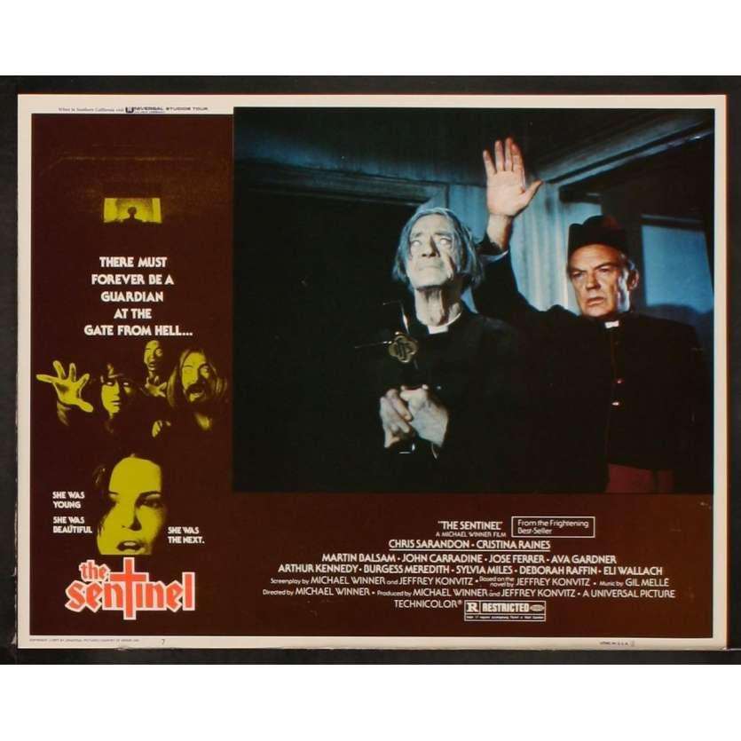 SENTINEL US Lobby Card 6 11x14 - 1977 - Michael Winner, Susan Sarandon