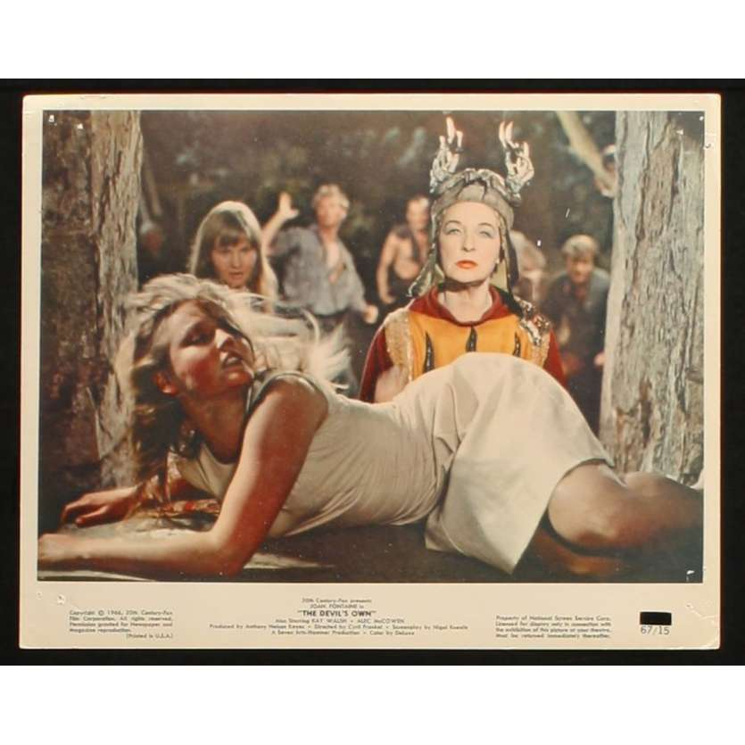 DEVIL'S OWN US Movie Still 1 8x10 - 1967 - Cyril Frankel, Joan Fontaine