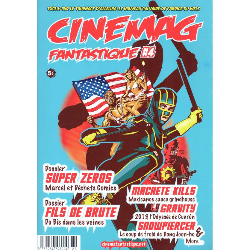 CINEMAG FANTASTIQUE N04 Fanzine 9x12 - 2014