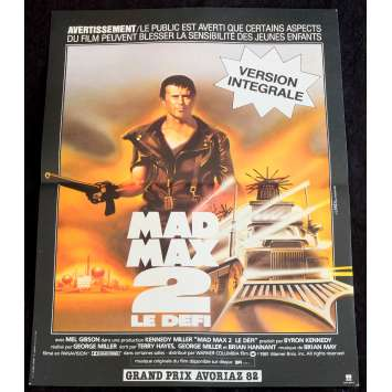 MAD MAX II - THE ROAD WARRIOR French Movie Poster 15x21 - 1982 - George Miller, Mel Gibson