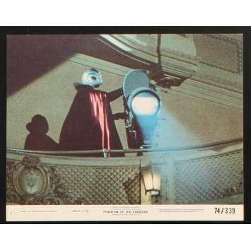 PHANTOM OF THE PARADISE US Lobby Card 2 8x10 - 1974 - Brain De Palma, Paul Williams