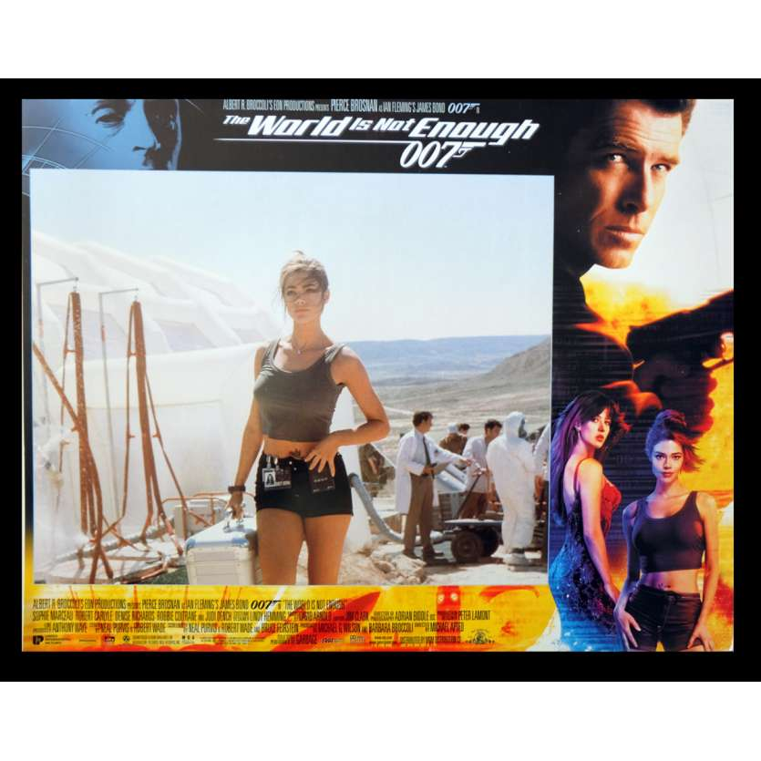 THE WORLD IS NOT ENOUGH British Lobby Card 3 11x14 - 1999 - Michael Apted, Pierce Brosnan