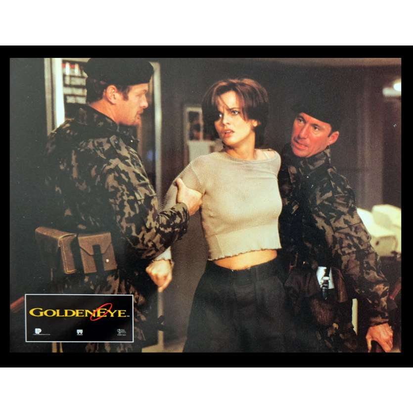 GOLDENEYE French Lobby Card 2 9x12 - 1995 - Martin Campbell, Pierce Brosnan