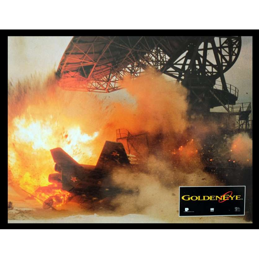 GOLDENEYE French Lobby Card 3 9x12 - 1995 - Martin Campbell, Pierce Brosnan