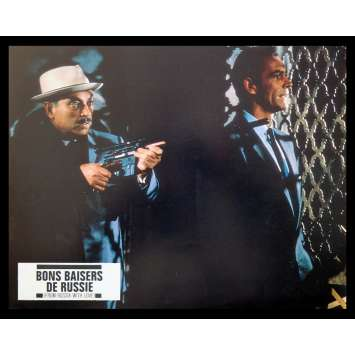 BONS BAISERS DE RUSSIE Photo 2 21x30 - R70 - Sean Connery, Terence Young