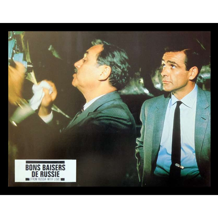 BONS BAISERS DE RUSSIE Photo 1 21x30 - R70 - Sean Connery, Terence Young
