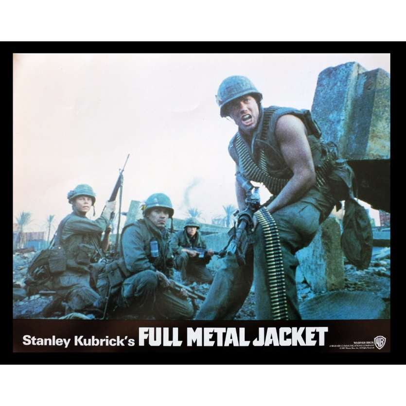 FULL METAL JACKET British Lobby Card 6 11x14 - 1987 - Stanley Kubrick, Matthew Modine