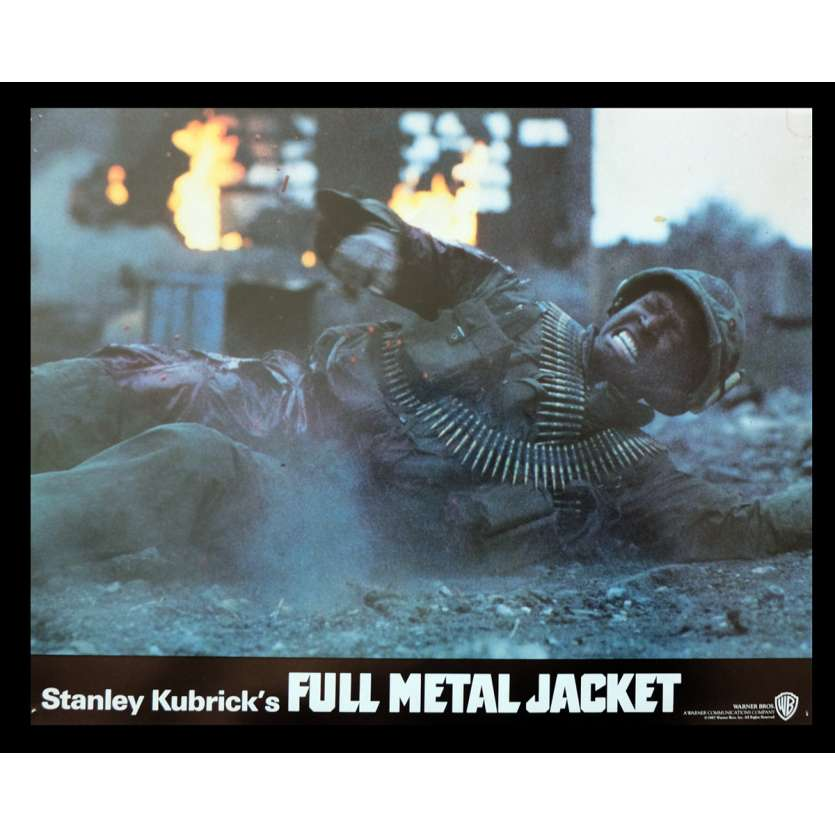 FULL METAL JACKET British Lobby Card 4 11x14 - 1987 - Stanley Kubrick, Matthew Modine
