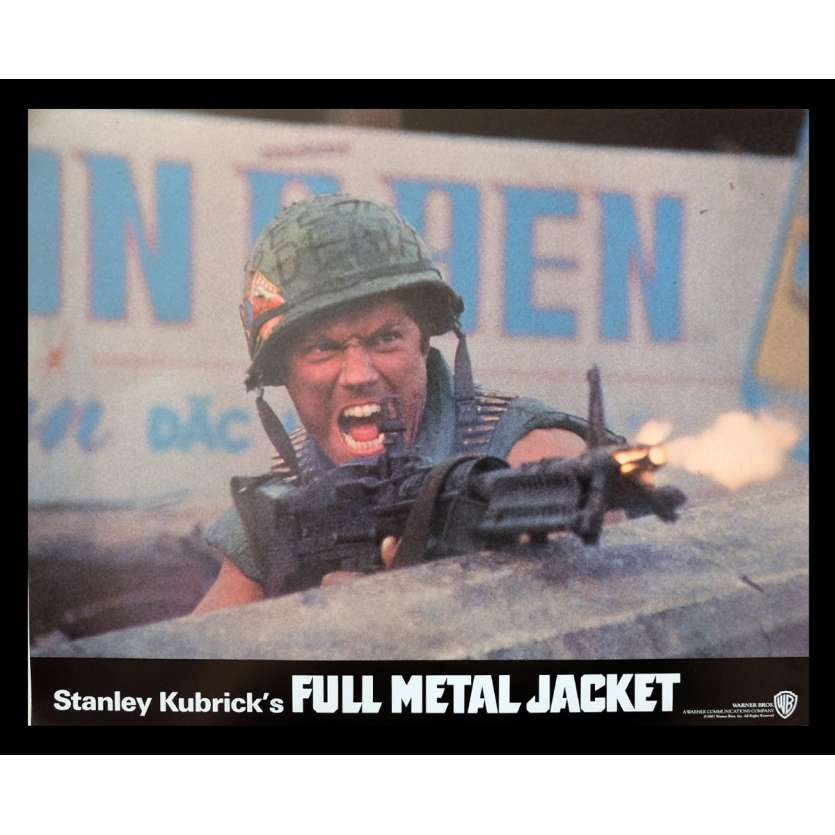 FULL METAL JACKET British Lobby Card 3 11x14 - 1987 - Stanley Kubrick, Matthew Modine