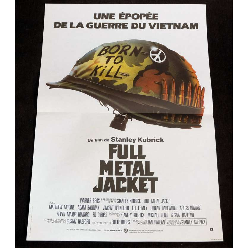 FULL METAL JACKET Affiche de film 7 40x60 - 1987 - Matthew Modine, Stanley Kubrick