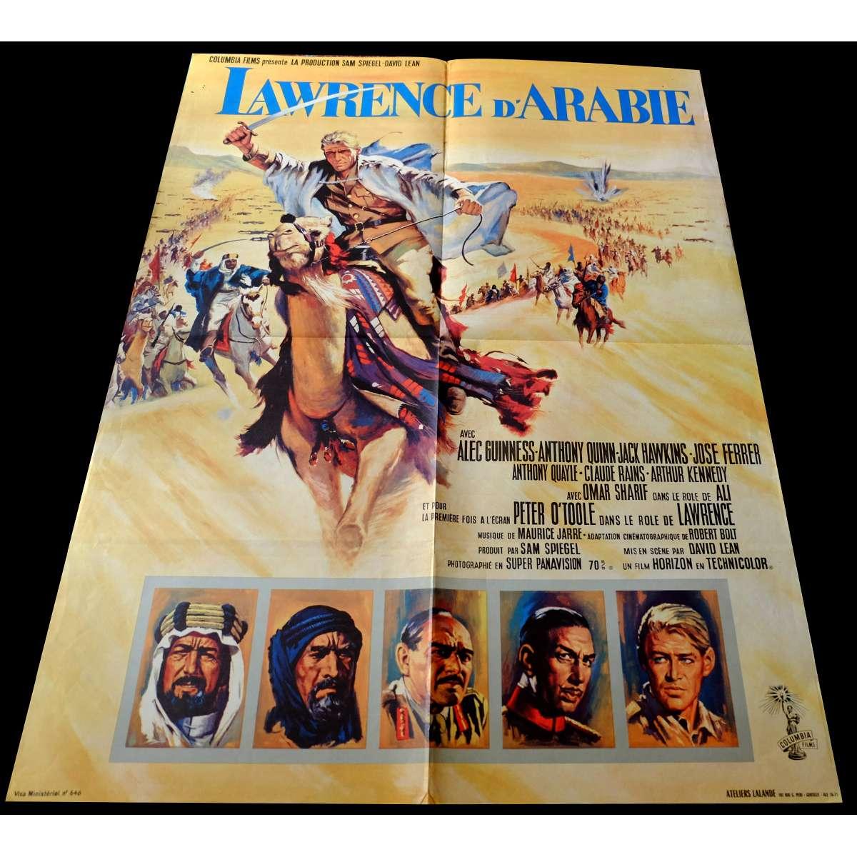 Lawrence Of Arabia David Lean: LAWRENCE OF ARABIA Movie Poster