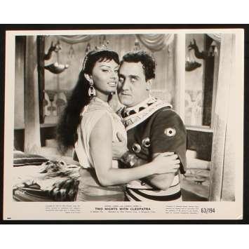 TWO NIGHTS WITH CLEOPATRA US Still 3 8x10 - 1954 - Mario Mattoli, Sophia Loren