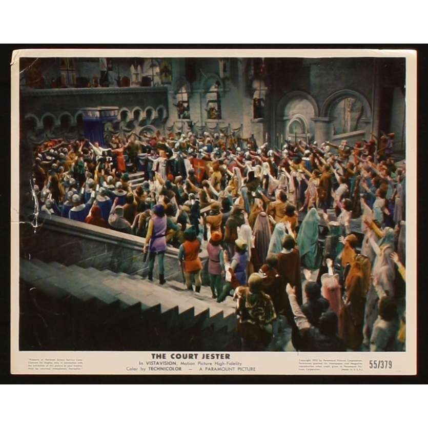 COURT JESTER US Lobby Card 4 8x10 - 1955 - Melvin Franck, Danny Kaye