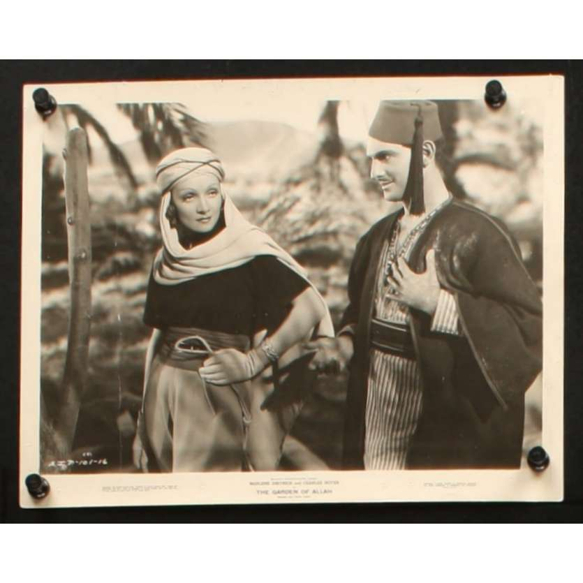 GARDEN OF ALLAH US Still 1 8x10 - 1936 - Richard Boleslawski, Marlene Dietrich