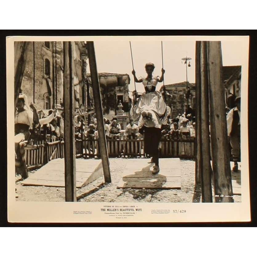 PAR DESSUS LES MOULINS Photo de presse 1 20x25 - 1955 - Sophia Loren, Mario Camerini