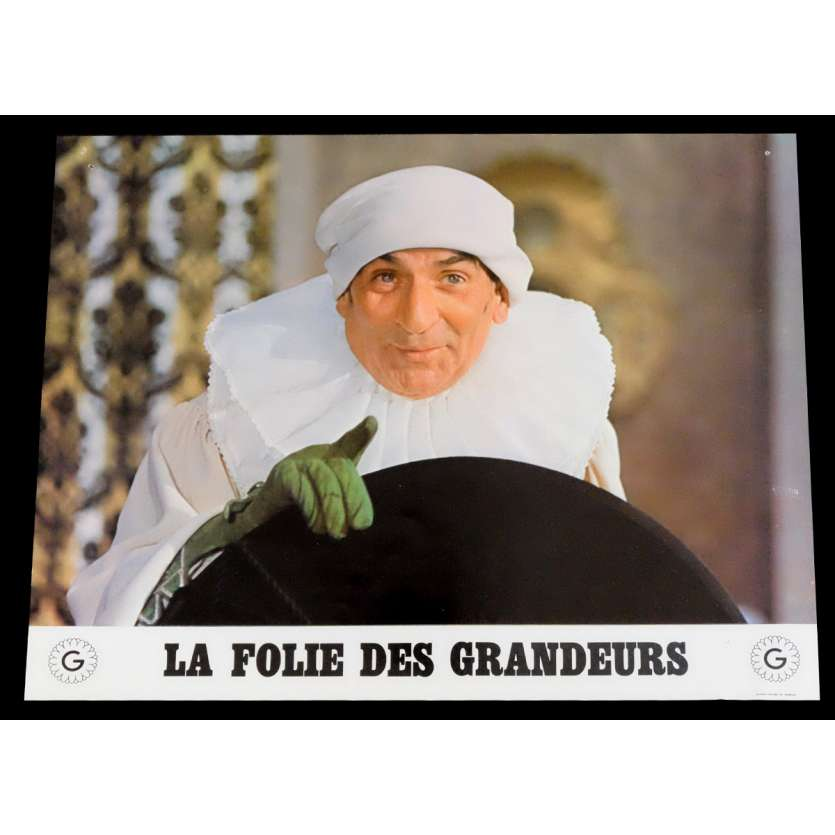 DELUSIONS OF GRANDEUR French Lobby Card 2 9x12 - 1971 - Gerard Oury, Louis de Funes