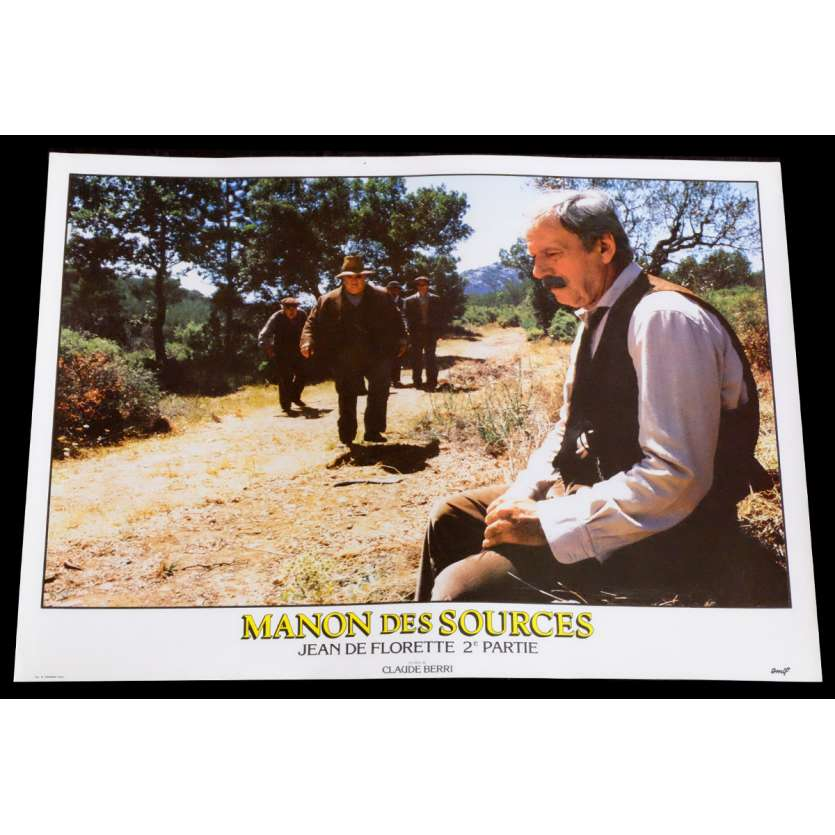 MANON DES SOURCES French Lobby Card 13 10x15 - 1986 - Claude Berri, Yves Montand
