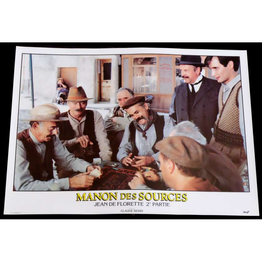 MANON DES SOURCES French Lobby Card 10 10x15 - 1986 - Claude Berri, Yves Montand