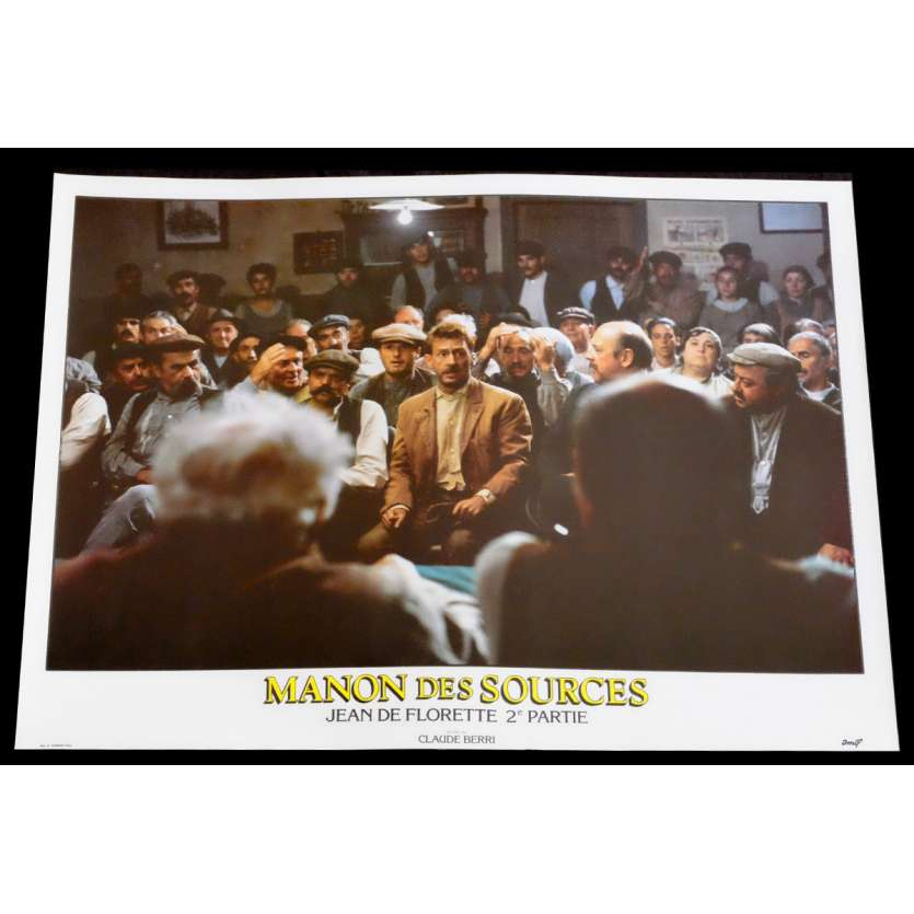 MANON DES SOURCES French Lobby Card 9 10x15 - 1986 - Claude Berri, Yves Montand