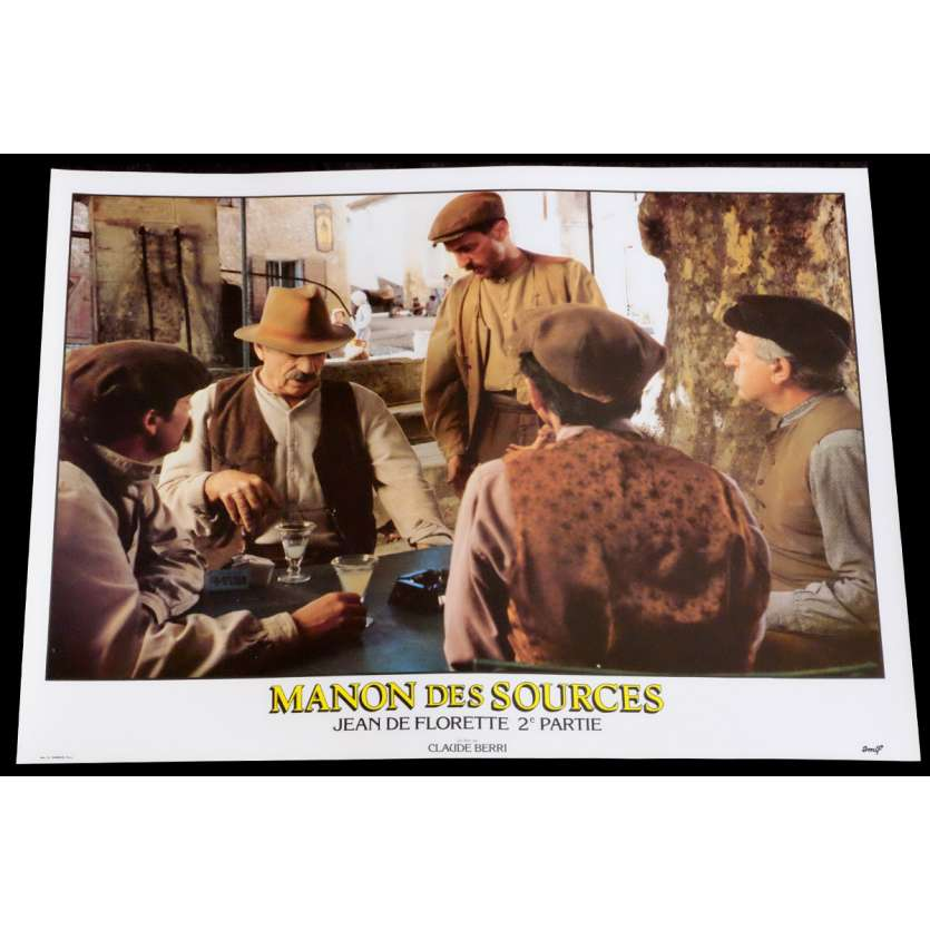 MANON DES SOURCES French Lobby Card 8 10x15 - 1986 - Claude Berri, Yves Montand