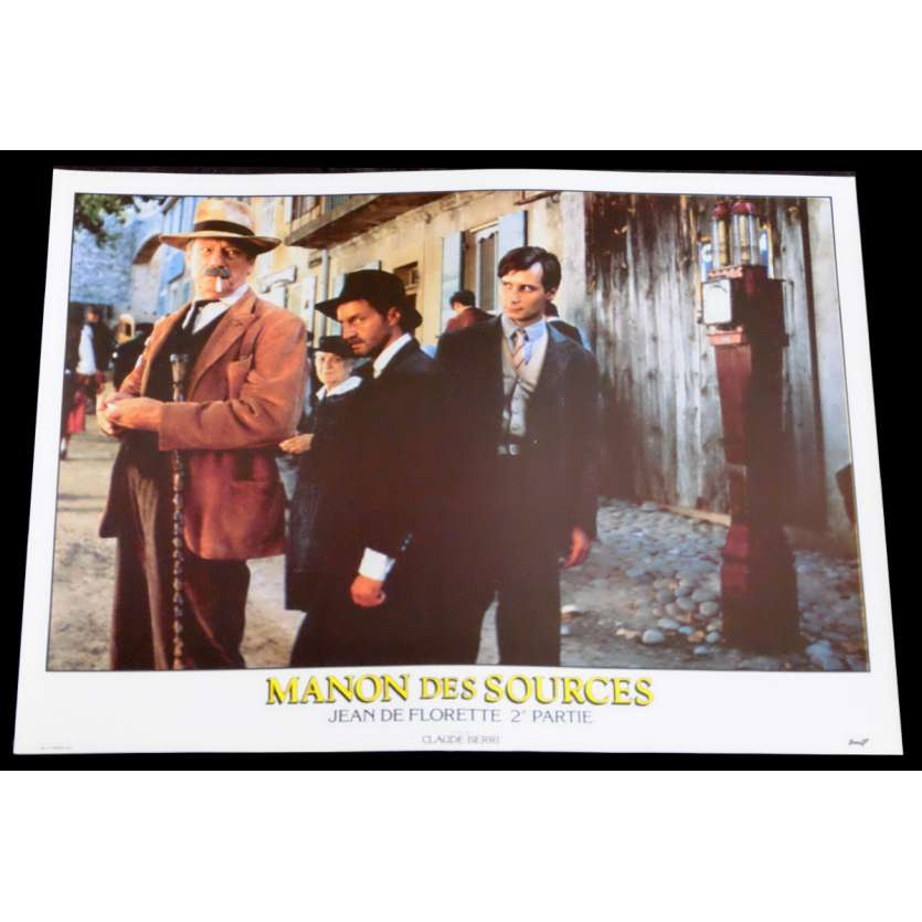 MANON DES SOURCES Photo de film 7 30x40 - 1986 - Yves Montand, Claude Berri