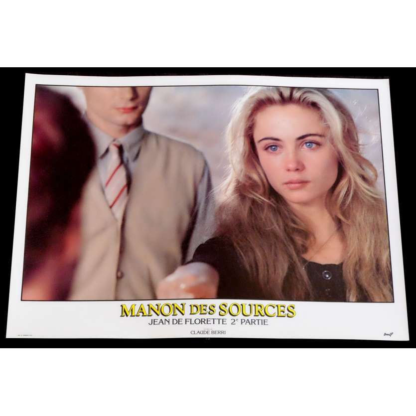 MANON DES SOURCES French Lobby Card 6 10x15 - 1986 - Claude Berri, Yves Montand