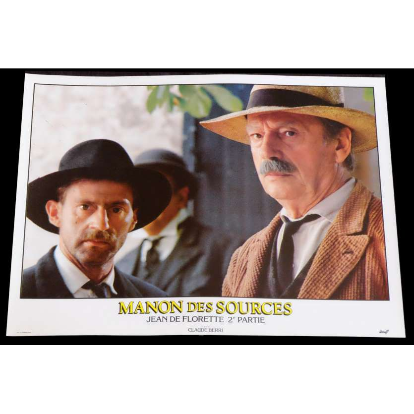 MANON DES SOURCES French Lobby Card 5 10x15 - 1986 - Claude Berri, Yves Montand