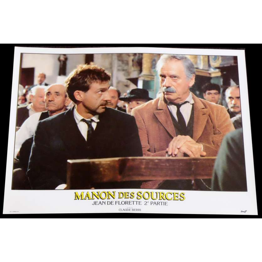 MANON DES SOURCES Photo de film 4 30x40 - 1986 - Yves Montand, Claude Berri