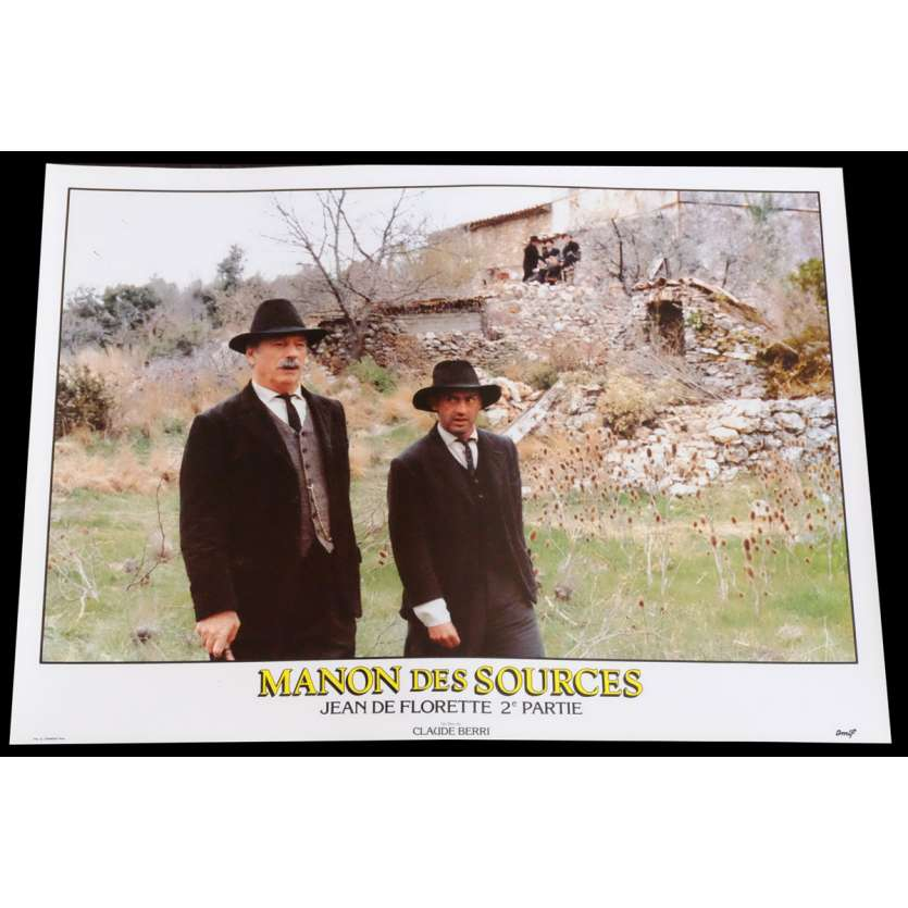MANON DES SOURCES Photo de film 3 30x40 - 1986 - Yves Montand, Claude Berri