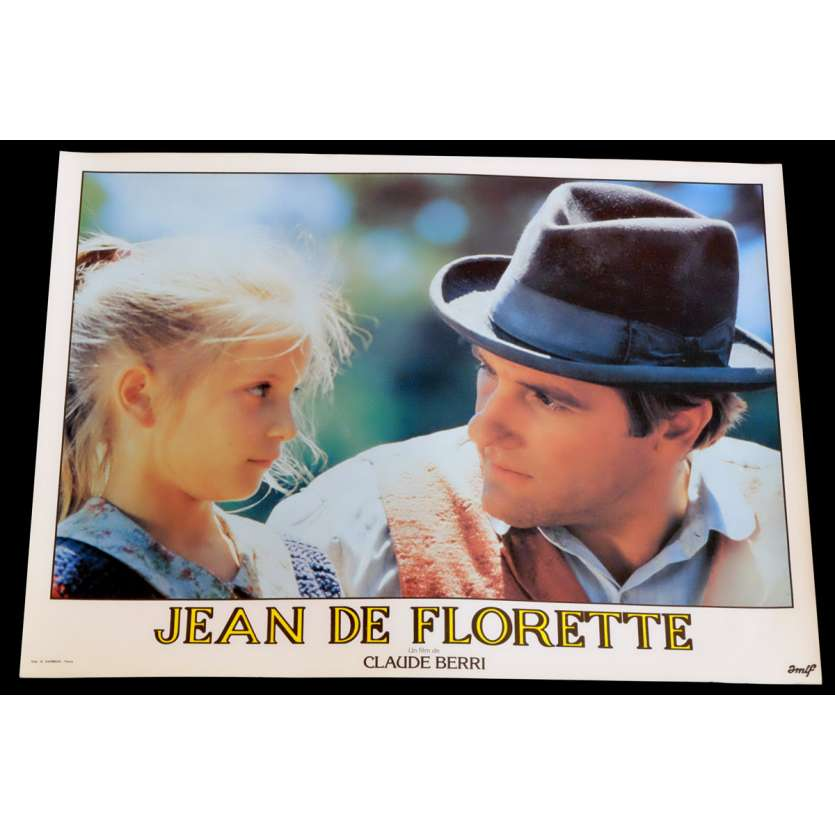 JEAN DE FLORETTE Photo de film 18 30x40 - 1986 - Gérard Depardieu, Claude Berri