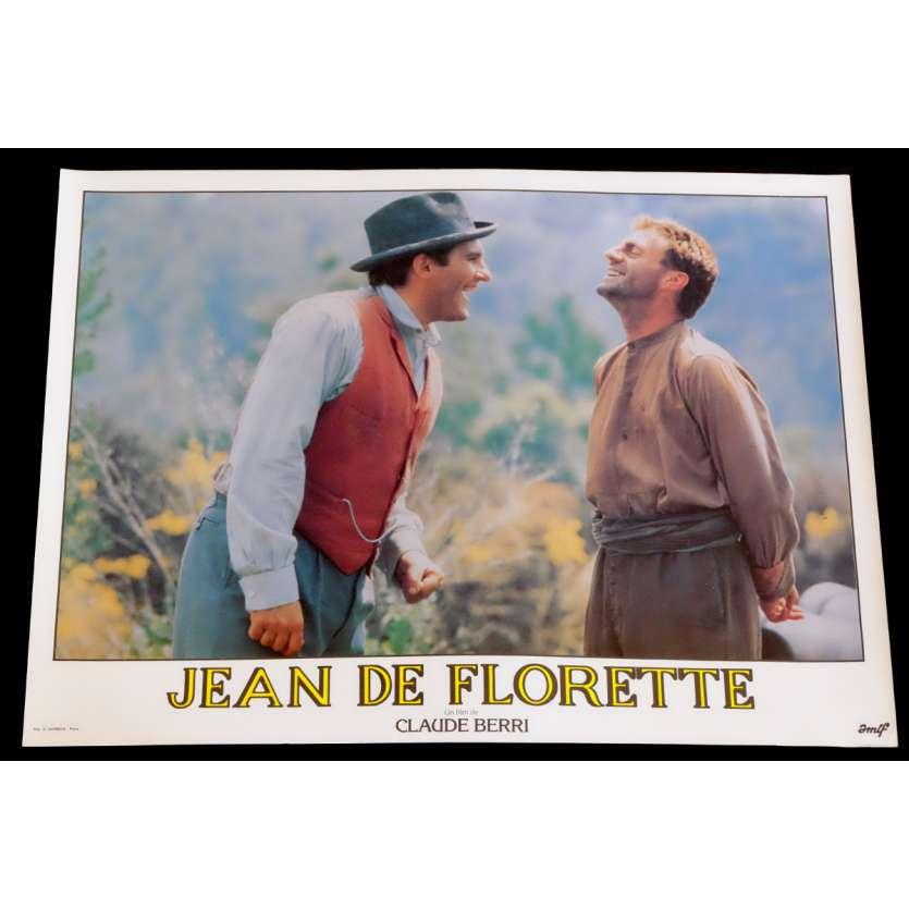 JEAN DE FLORETTE French Lobby Card 17 10x15 - 1986 - Claude Berri, Gérard Depardieu