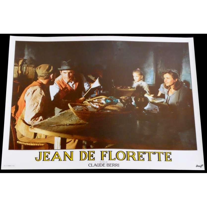 JEAN DE FLORETTE French Lobby Card 16 10x15 - 1986 - Claude Berri, Gérard Depardieu