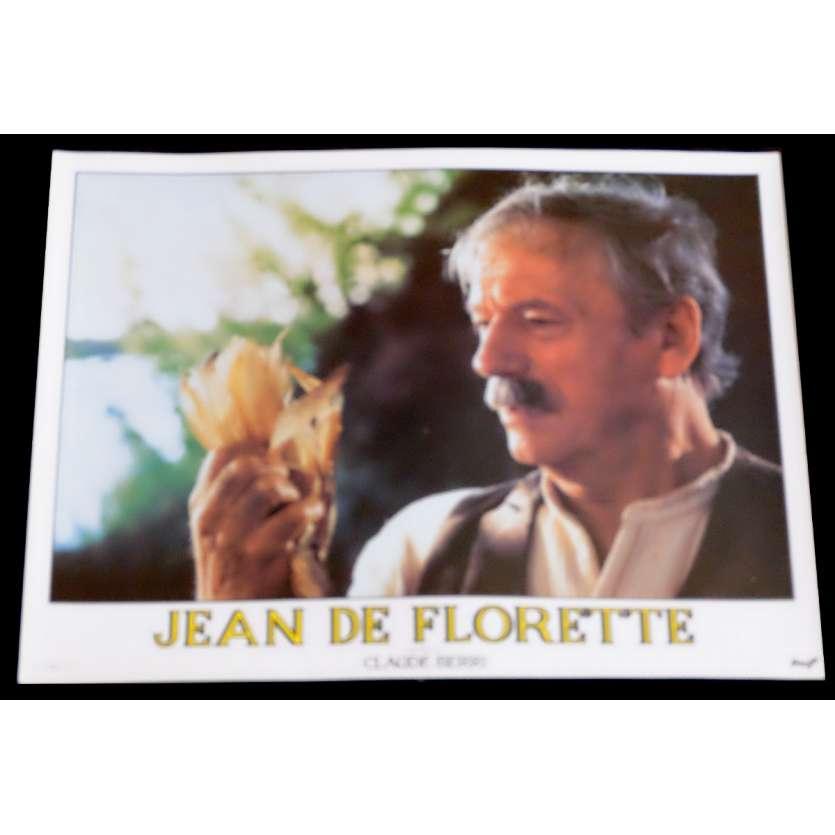 JEAN DE FLORETTE Photo de film 15 30x40 - 1986 - Gérard Depardieu, Claude Berri
