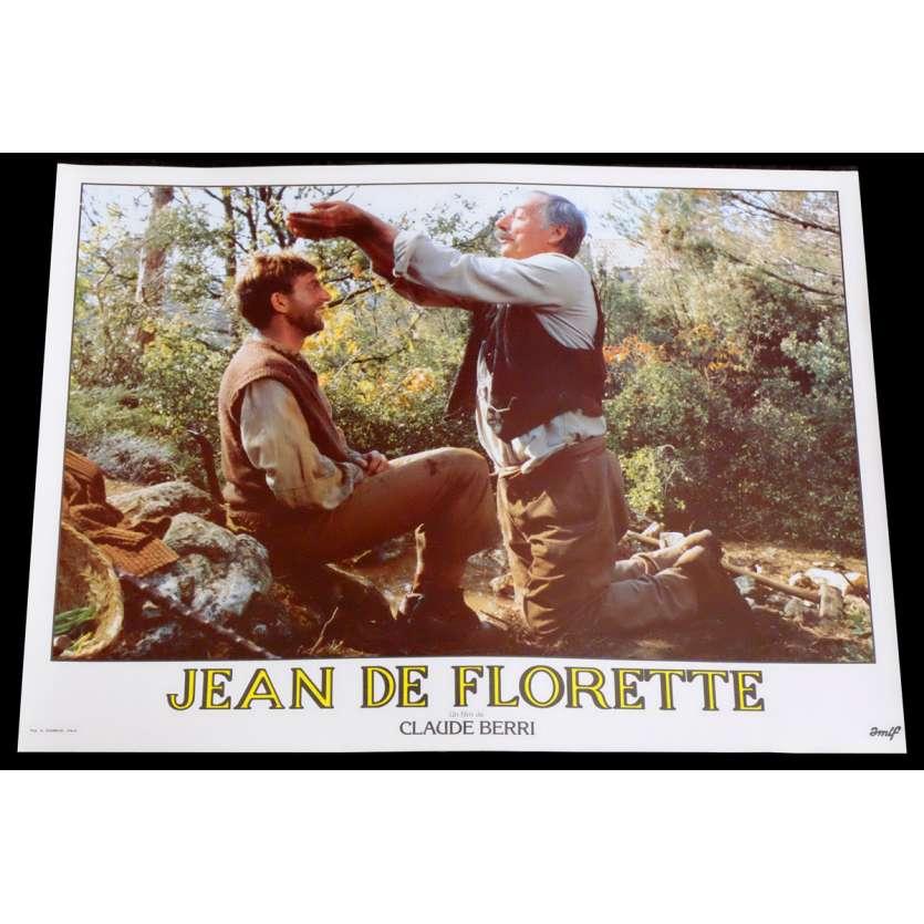 JEAN DE FLORETTE French Lobby Card 14 10x15 - 1986 - Claude Berri, Gérard Depardieu