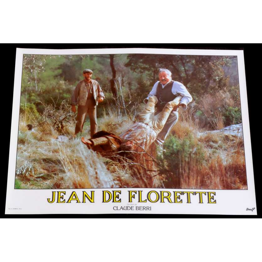 JEAN DE FLORETTE French Lobby Card 12 10x15 - 1986 - Claude Berri, Gérard Depardieu