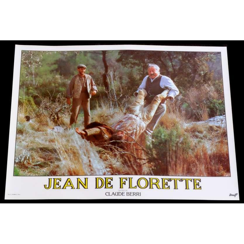 JEAN DE FLORETTE Photo de film 12 30x40 - 1986 - Gérard Depardieu, Claude Berri