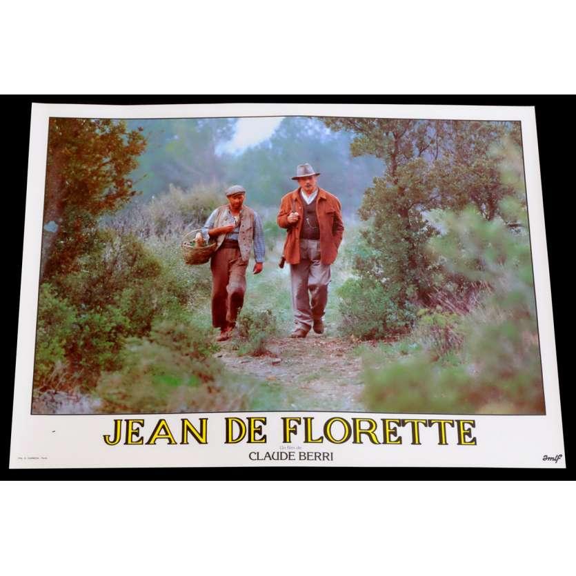 JEAN DE FLORETTE French Lobby Card 11 10x15 - 1986 - Claude Berri, Gérard Depardieu