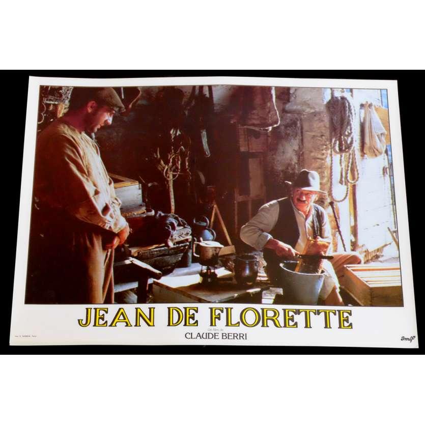 JEAN DE FLORETTE Photo de film 10 30x40 - 1986 - Gérard Depardieu, Claude Berri