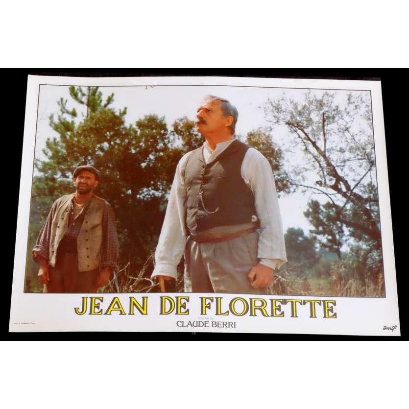 JEAN DE FLORETTE French Lobby Card 9 10x15 - 1986 - Claude Berri, Gérard Depardieu