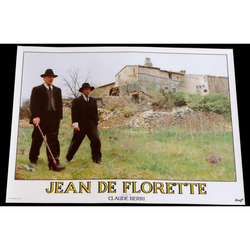 JEAN DE FLORETTE French Lobby Card 8 10x15 - 1986 - Claude Berri, Gérard Depardieu