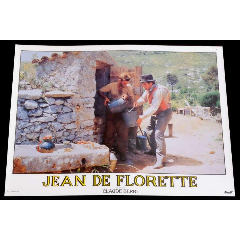 JEAN DE FLORETTE French Lobby Card 7 10x15 - 1986 - Claude Berri, Gérard Depardieu