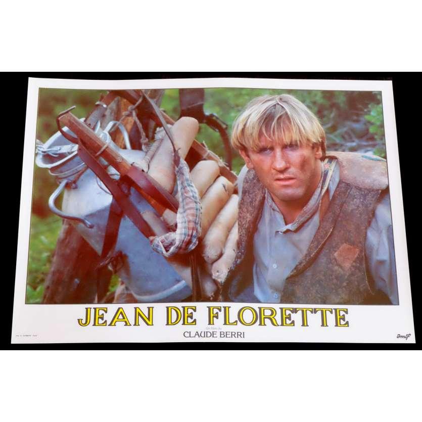 JEAN DE FLORETTE Photo de film 6 30x40 - 1986 - Gérard Depardieu, Claude Berri