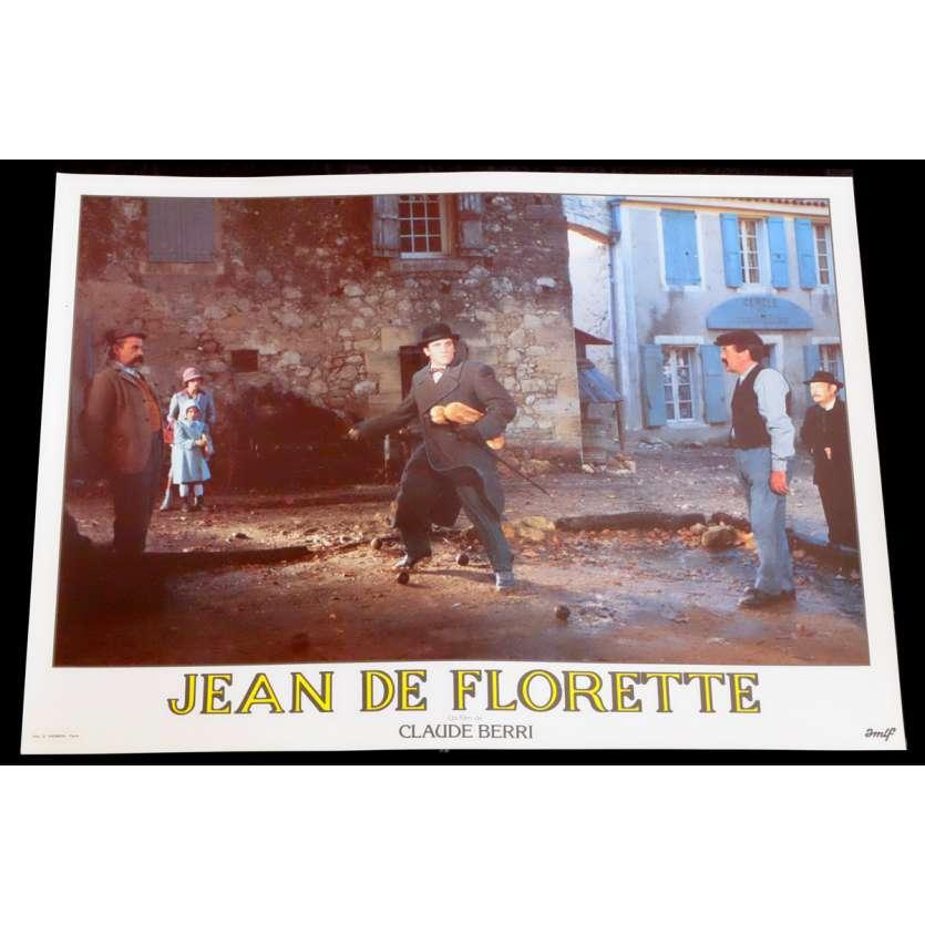 JEAN DE FLORETTE French Lobby Card 5 10x15 - 1986 - Claude Berri, Gérard Depardieu