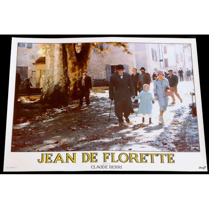 JEAN DE FLORETTE French Lobby Card 4 10x15 - 1986 - Claude Berri, Gérard Depardieu