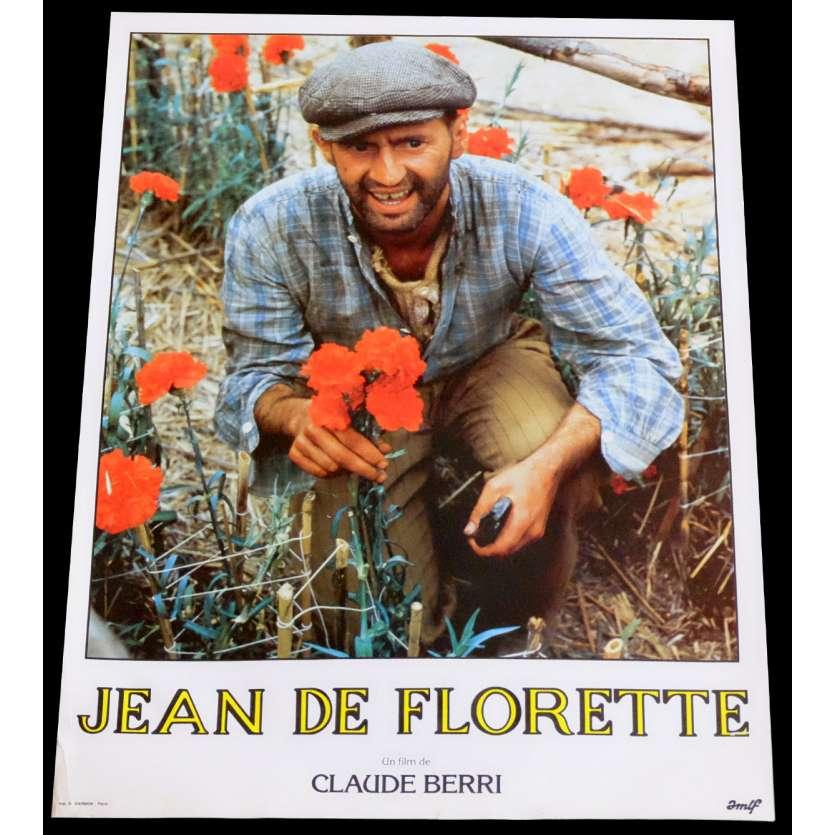 JEAN DE FLORETTE Photo de film 1 30x40 - 1986 - Gérard Depardieu, Claude Berri