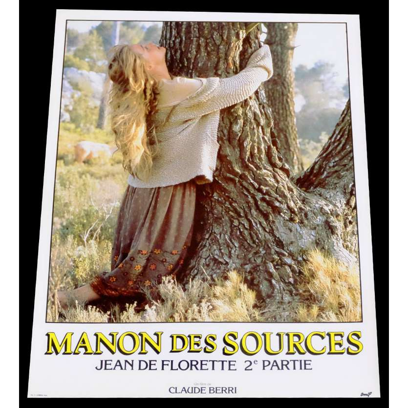 MANON DES SOURCES French Lobby Card 1 10x15 - 1986 - Claude Berri, Yves Montand
