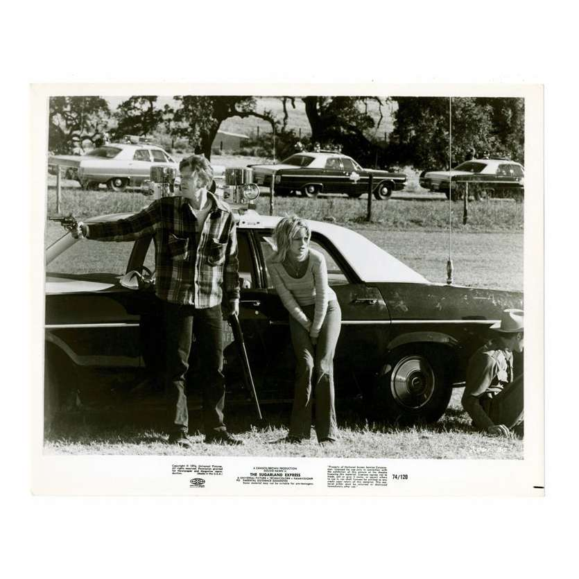 Mauvais-genres.com STEVEN SPIELBERG Sugarland Express USA 1974 Photo Photos